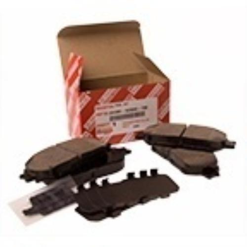 genuine toyota 2002 2006 toyota camry front brake pad kit vin required ebay. Black Bedroom Furniture Sets. Home Design Ideas