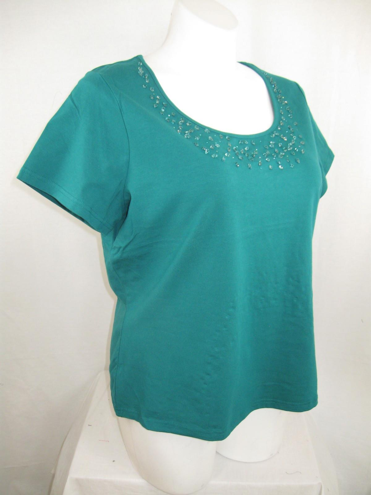 Apostrophe-Woman-Plus-Size-Top-Short-Sleeves-with-Jeweled-Scoop-Neckline