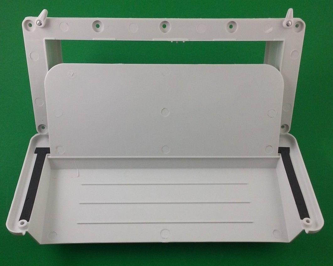 Exterior jensen rv range vent colonial white j116aow ebay - Exterior wall vent for rv range hood ...