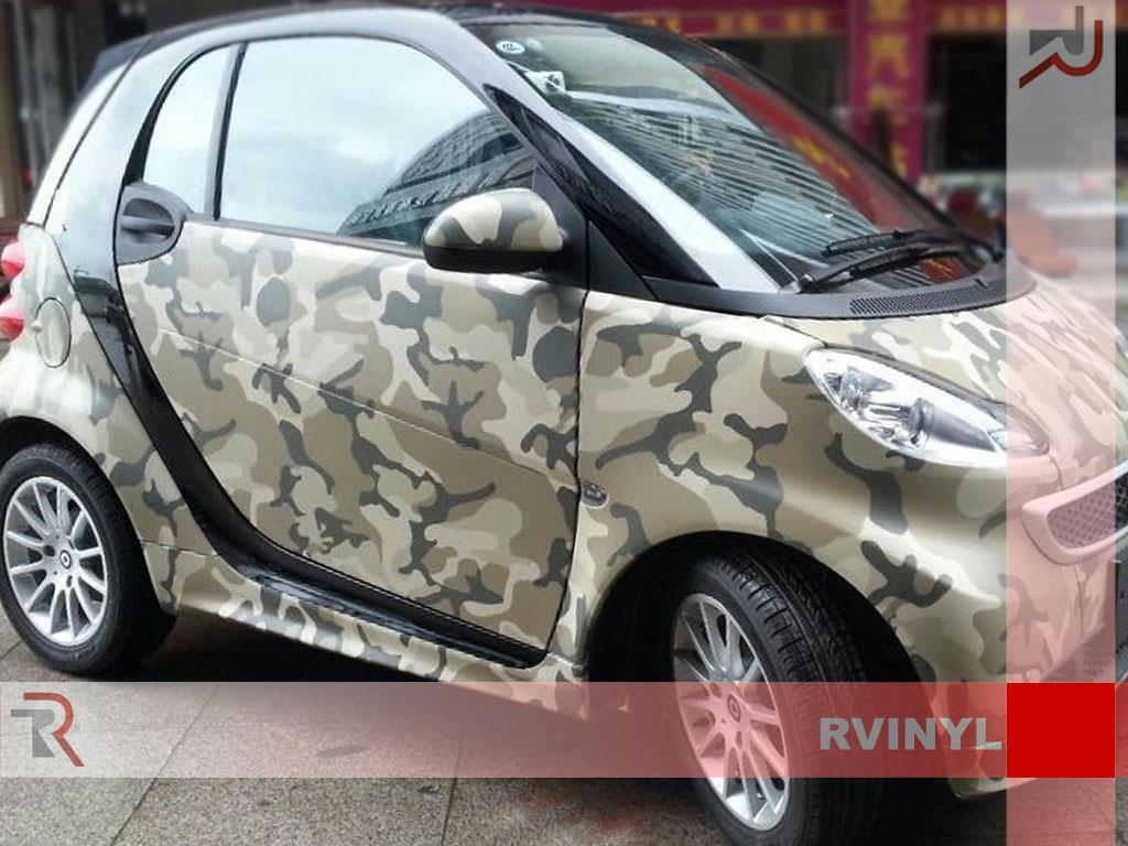 Camouflage Vinyl Wrap Bubble Free Camo Air Release Sheet