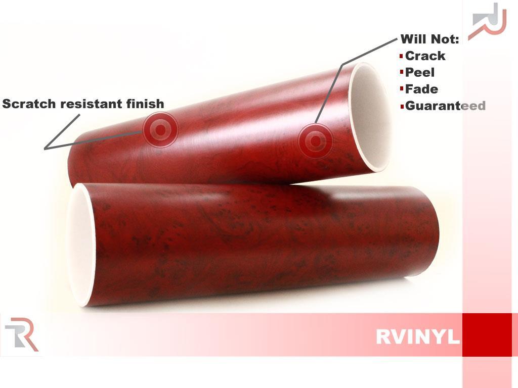 Rwraps Wood Grain Vinyl Wrap Sheet Film Roll For Wooden