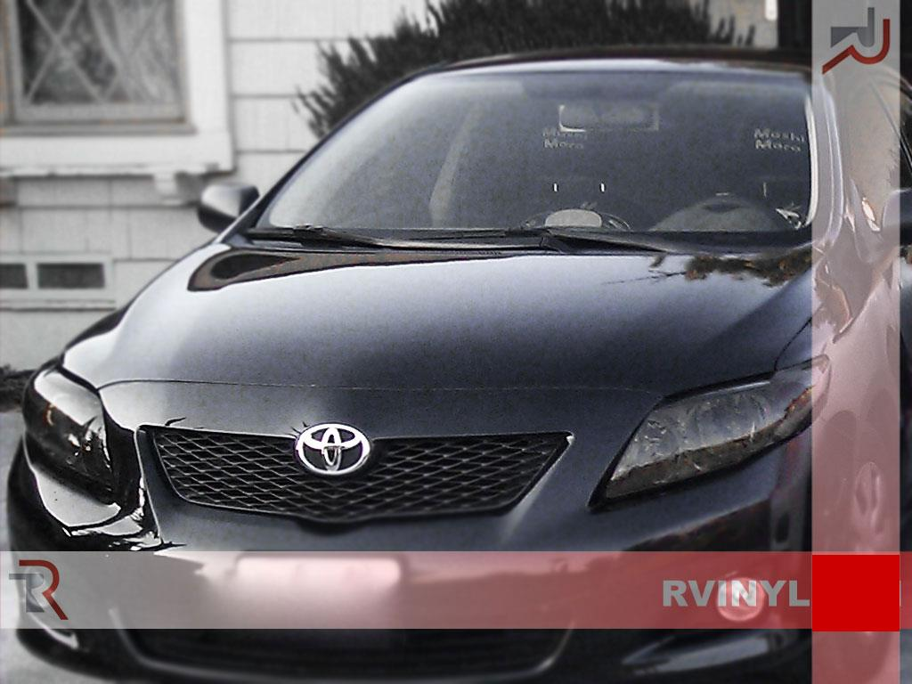 Rtint Headlight Tint Precut Smoked Film Covers For Toyota