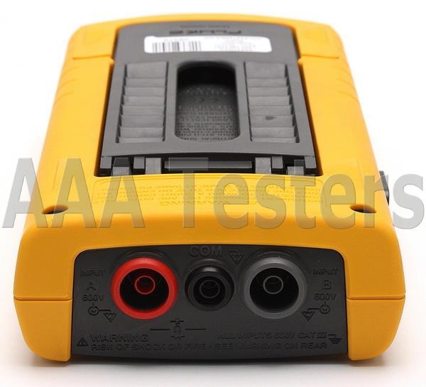 fluke 123 industrial scopemeter 20mhz manual