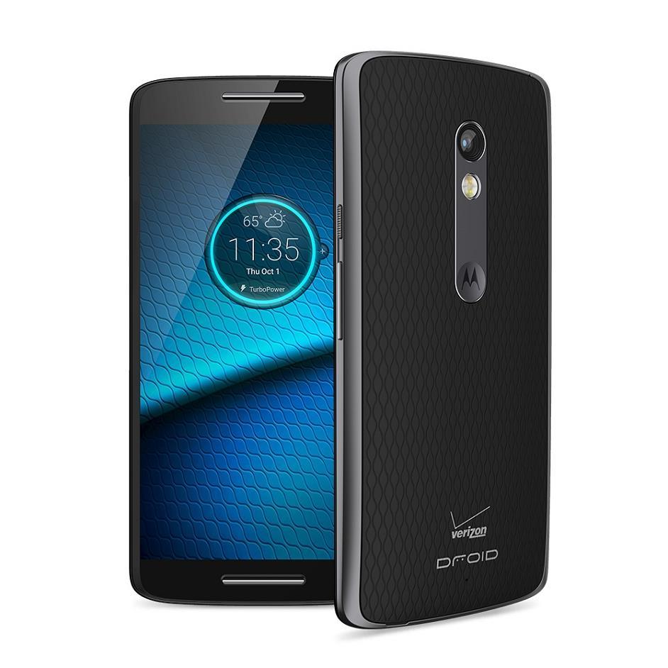Motorola Droid Maxx 2 XT1565 -16GB- Black/Blue (Verizon ...